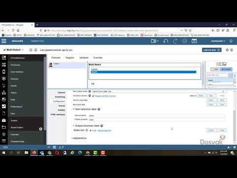 BPM UI Toolkit   Multi Select