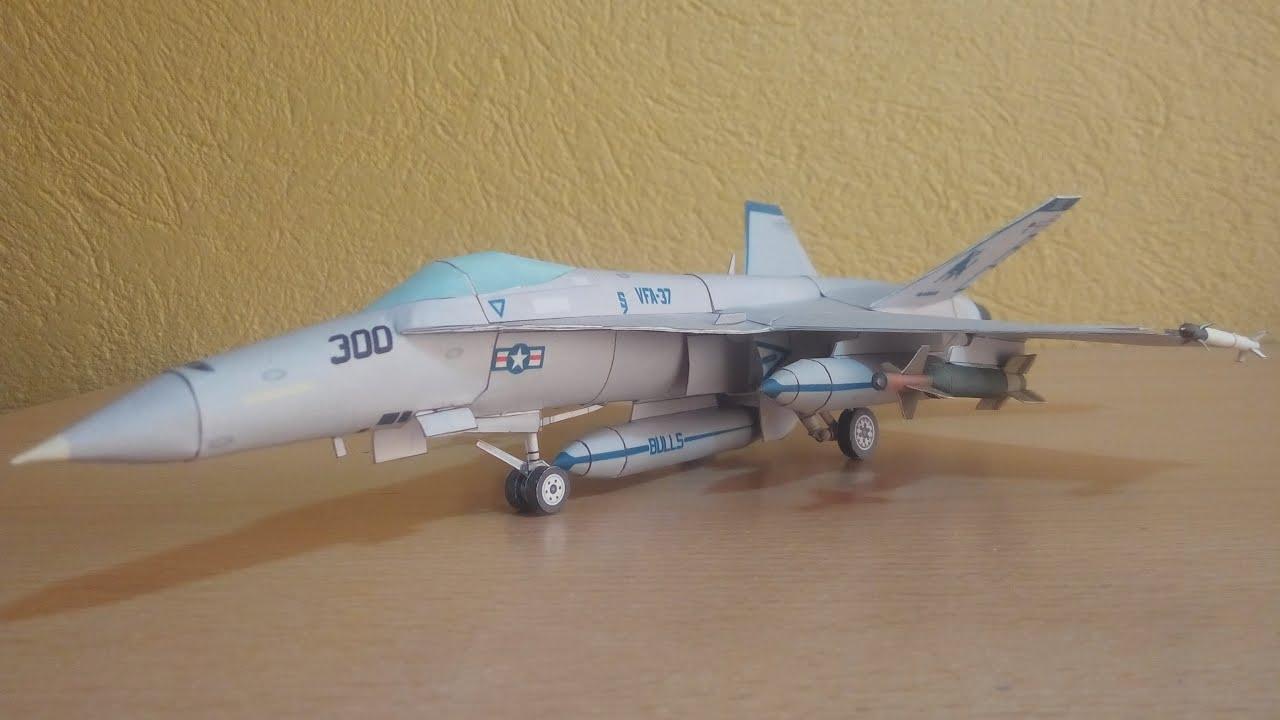 Papercraft F-18 Hornet Papercraft