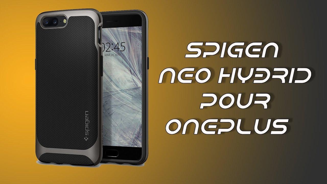 low priced 51e25 6955f Spigen Neo Hybrid pour OnePlus 5 : encore tout bon. - YouTube