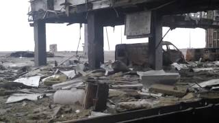 Появилось новое архивное видео боев за Донецкий аэропорт