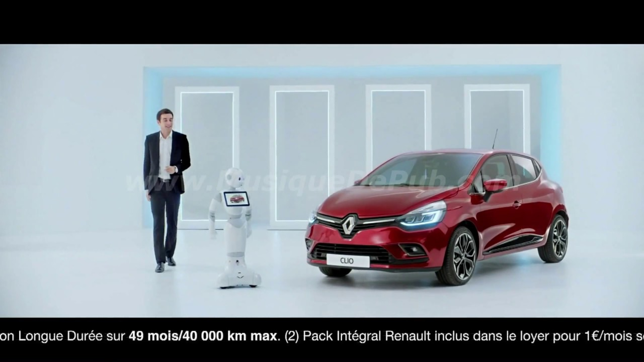 pub renault french tech clio 39 pepper 39 2017 hq youtube. Black Bedroom Furniture Sets. Home Design Ideas