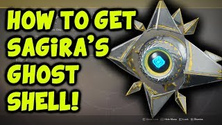 Destiny 2 - How To Get Sagira's Shell {Secret Exotic Ghost, Verse Weapon Quest}