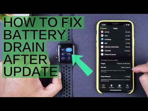 How To: Fix Apple Watch Battery Drain After WatchOS Updates