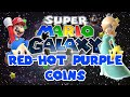 Super Mario Galaxy #123 | Red-Hot Purple Coins | Let's Play With Anomulus0