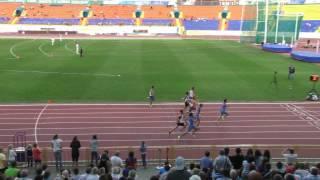 100м Мужчины - финал, Чемпионат России 2014
