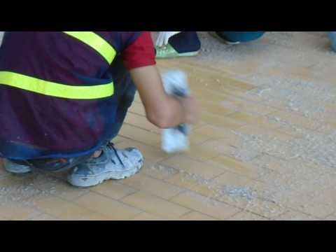 how to apply epoxy tiling joint