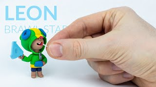Leon (Brawl Stars) – Polymer Clay Tutorial