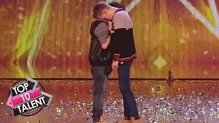 Top 10 Auditions That Got Simon Cowell S Golden Buzzer On Got Talent MP3