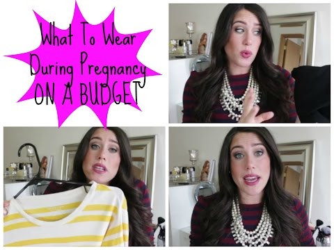 What To Wear During Pregnancy! On A Budget!