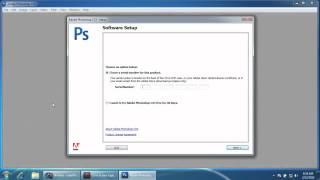 Adobe photoshop cs3 installation
