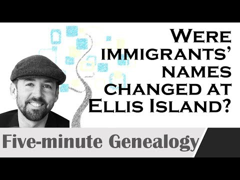 Did Ellis Island Immigration Officers Really Change Surnames?