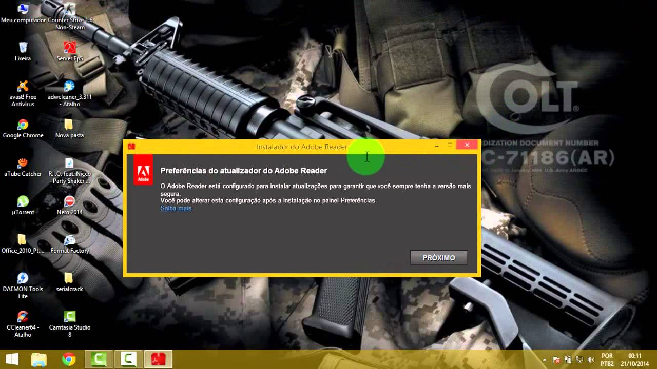 Como Baixar Adobe Reader - YouTube
