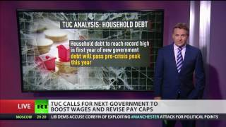 Hike up wages or get record household debt   TUC