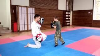 Тренировка детей