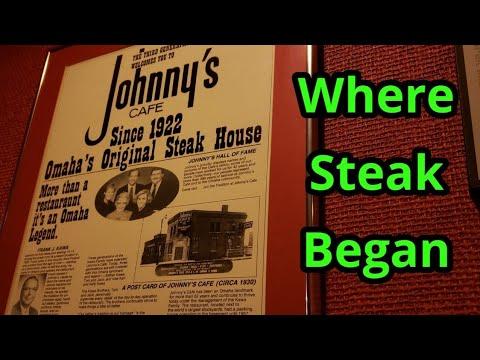 Johnny's Steakhouse, Omaha Nebraska...Dinner With Makayla, Mark & Dee...
