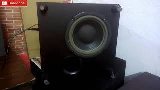 Pioneer Powered Subwoofer Bass Test