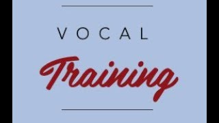 Vocal Exercise 6