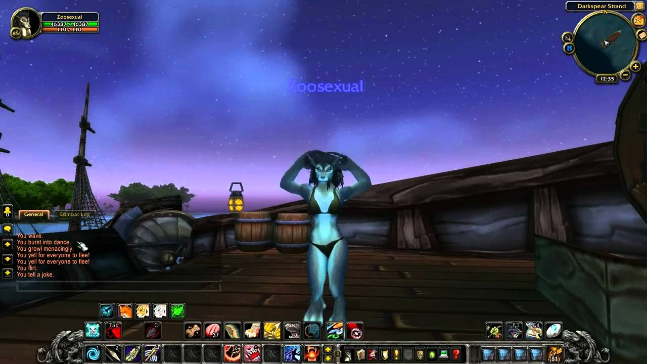 worgen Wow naked female