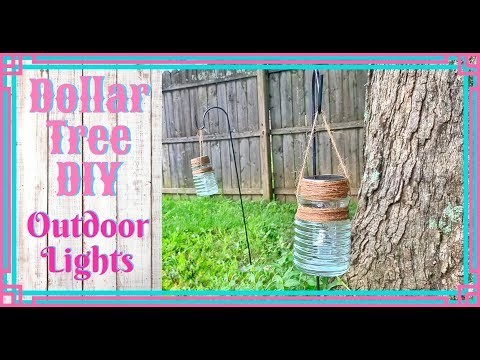 Dollar Tree DIY: Outdoor Decor // Hanging Lanterns