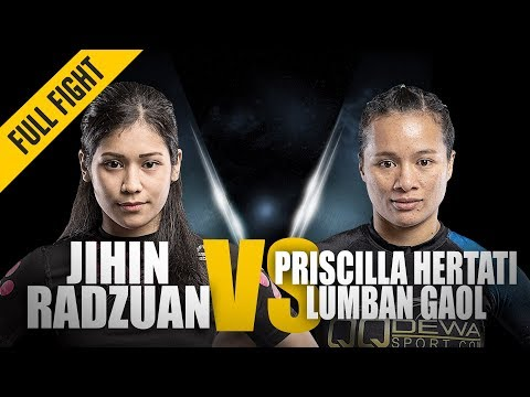 ONE: Full Fight | Jihin Radzuan vs. Priscilla Hertati Lumban Gaol | Ground Battle | July 2018 Mp3