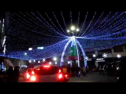 christmas decorations of aizawl city 2014