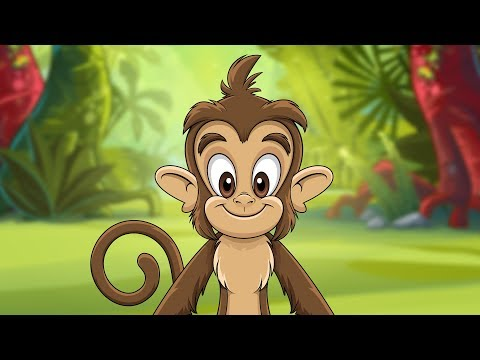 Monkey Dance  HIT song for kids  Kidz Area!!!