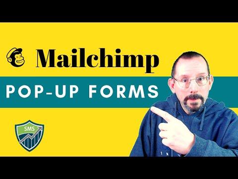 How To Add A MailChimp Pop-Up Form To WordPress