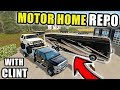 STOLEN RV REPO WITH HELP FROM CLINT! | FARMING SIMULATOR 2017