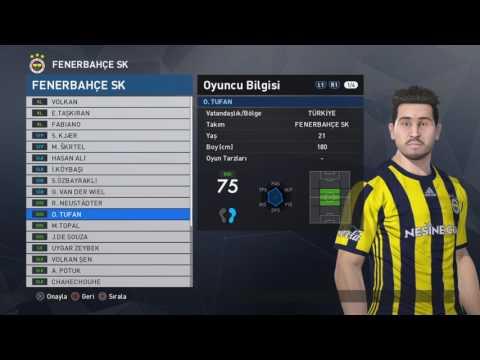Pes 2017 Fenerbahçe SK