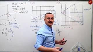 Trigonometri 19 PDF Ekli (Toplam Fark Formülü) Yapamıyorum diyenler gelsin