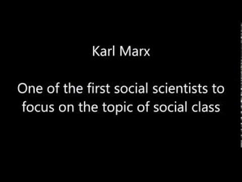 SOCB47   Class as a Social Relation