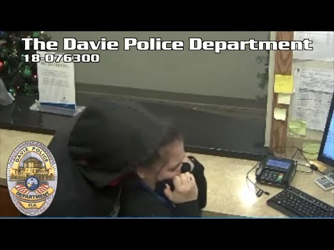 Nathalie Rodriguez - Caught On Camera: Davie Hotel Worker Attacked By Robber