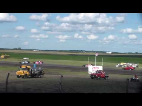 Sport Mod Heat 2 @ Hancock County Speedway 08/14/16