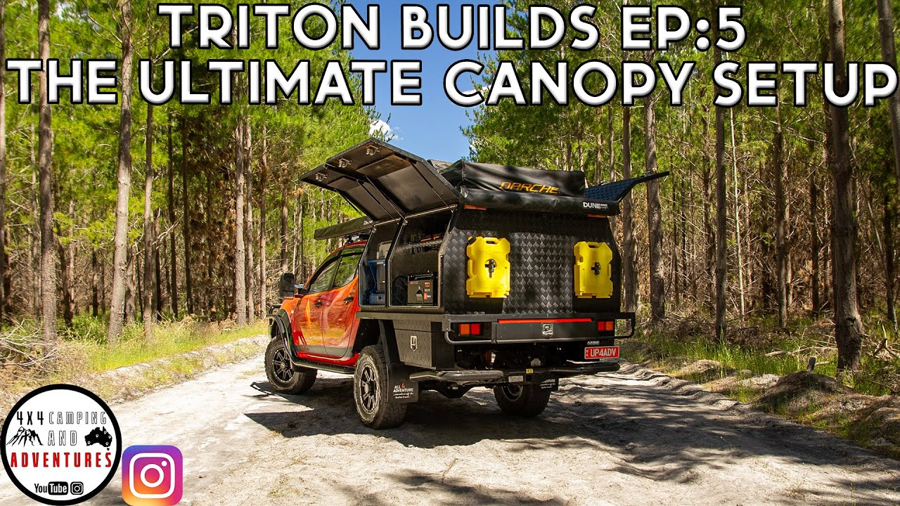 TRITON BUILDS EP: 5 THE ULTIMATE CANOPY SETUP (2015 MN GLX)