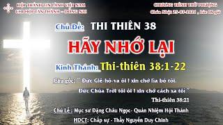 HTTL TÂN THÀNH - Chương trình thờ phượng Chúa - 25/07/2021