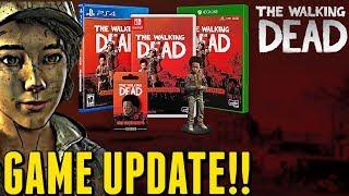 "The Walking Dead:Game Update - ""Walking Dead Skybound Games"""
