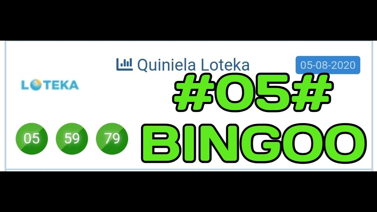 BINGOOOO CON EL 05 EN LOTEKA🎉🎉