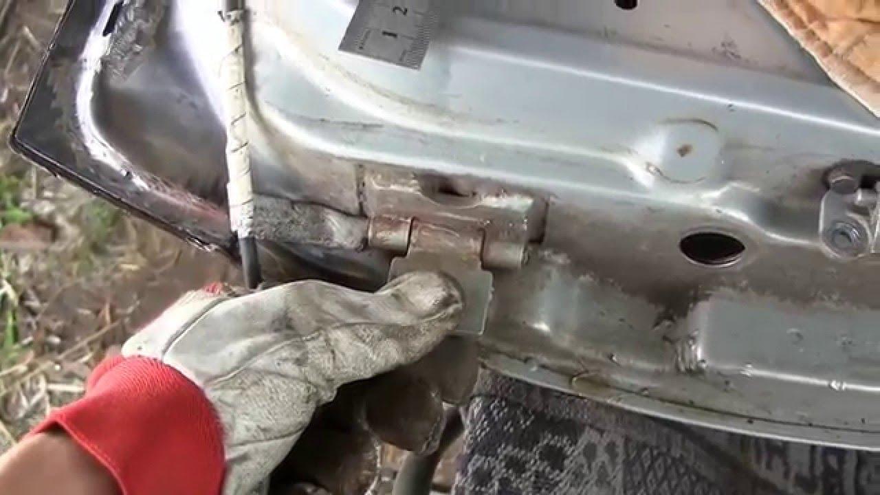 Фото №13 - ВАЗ 2110 ремонт дверных петель