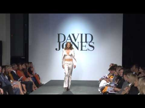Jesinta Campbell and Buddy Franklin on the David Jones red carpet