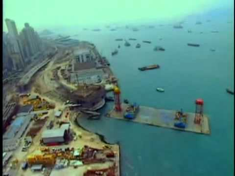 Hong Kong Airport Construction Project - 02.avi