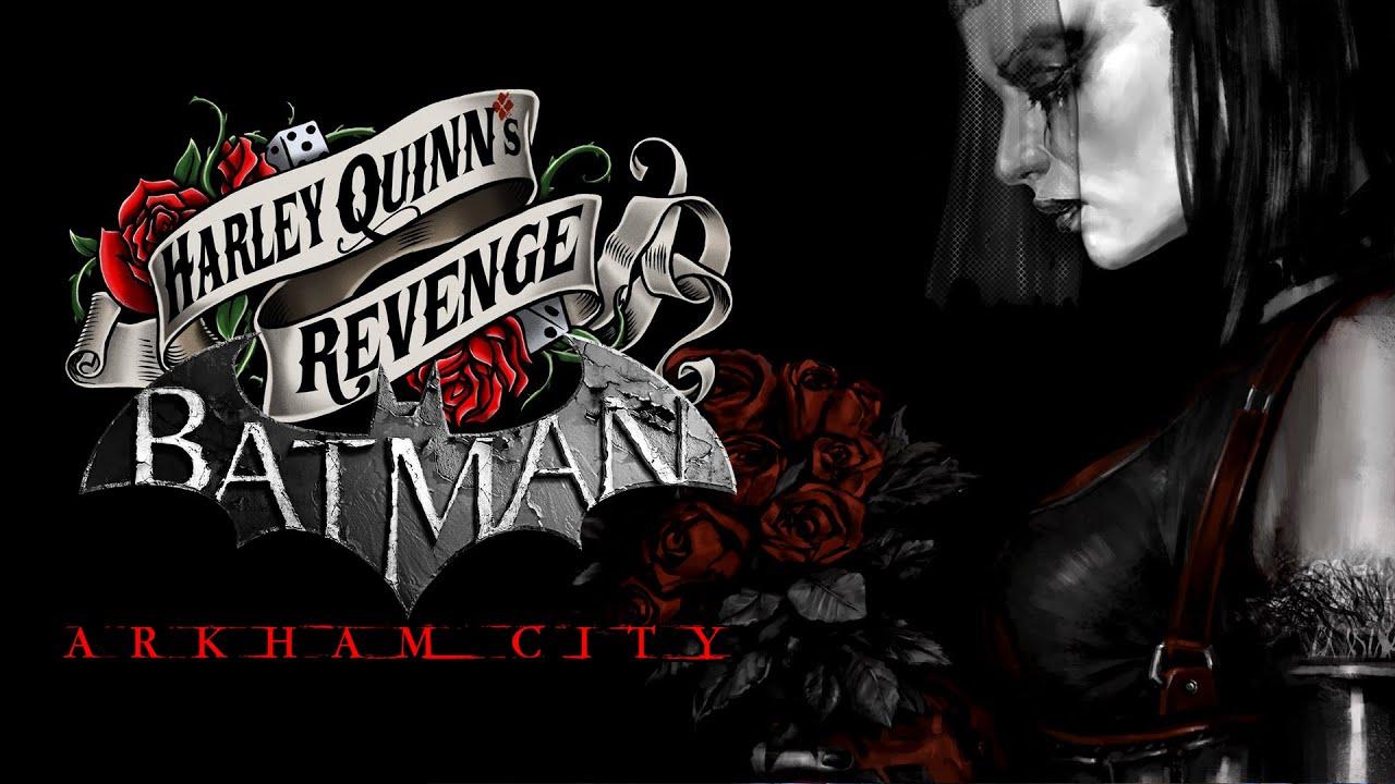 Tapeta DLC do Arkham City zatytułowanego Harley Quinn's Revenge