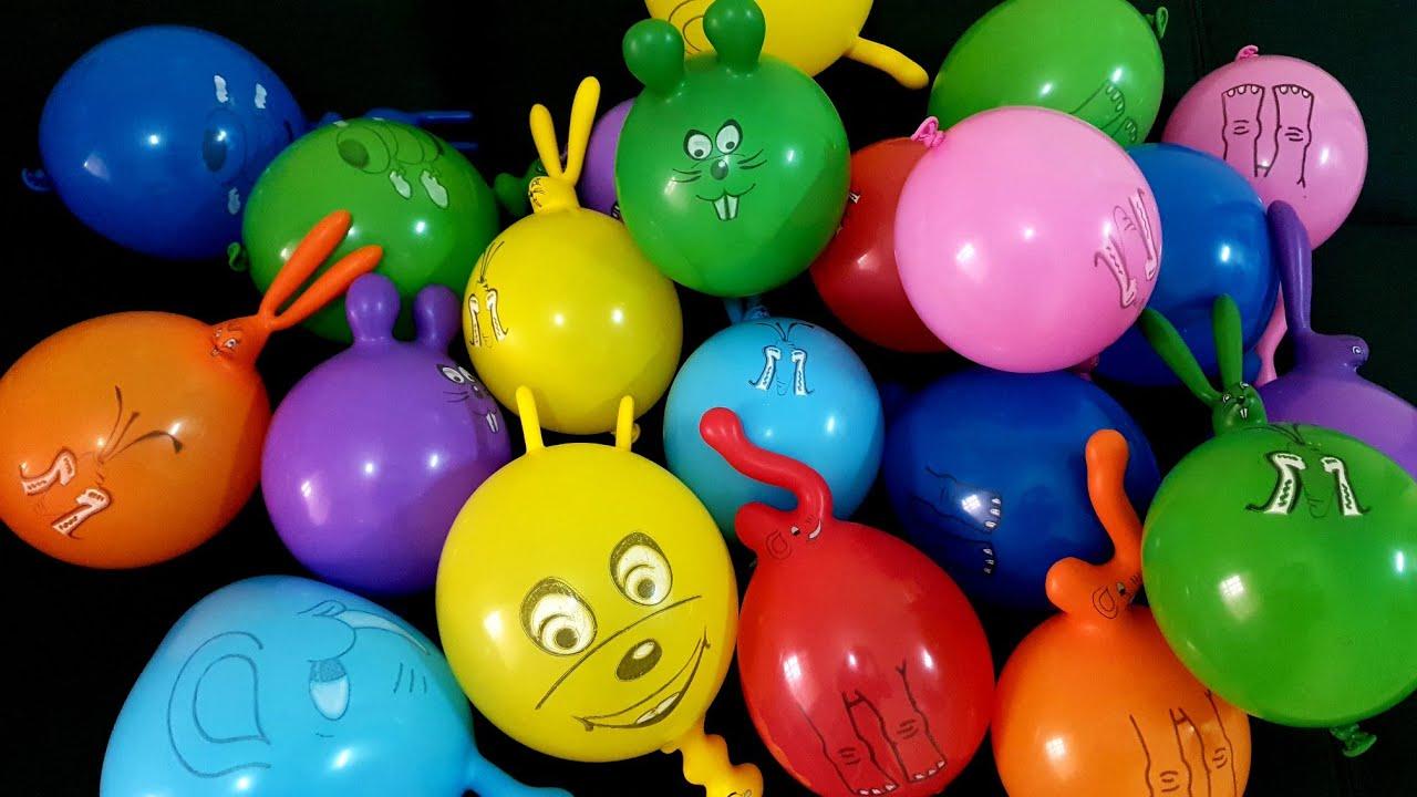 Funny Balloons Popping Fun