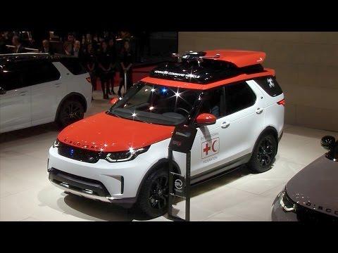 Jaguar Land Rover Press Conference at the Geneva Motor Show 2017