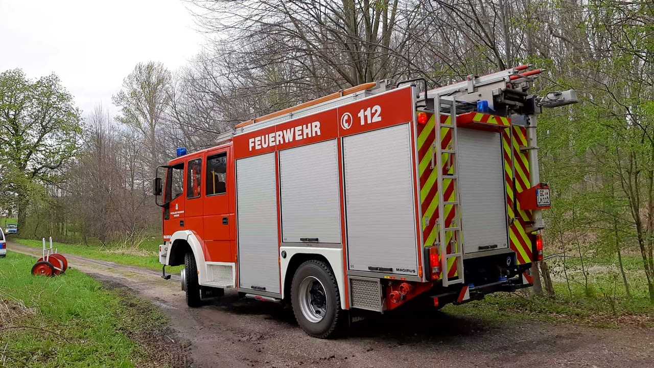 Download Waldbrand Meerane  2weiter Einsatz des neuen TLF der Wehr Meerane