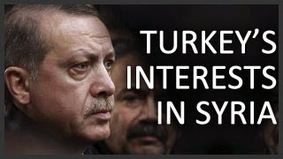 Turkey's interests in the Syrian civil war