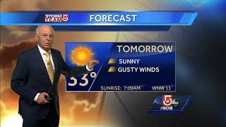 Video: Cool, sunny day across New England
