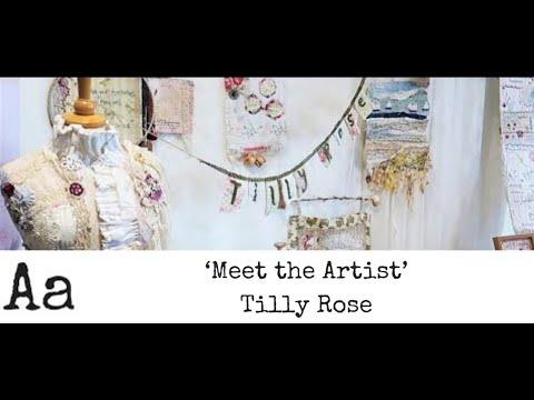 'Meet The Artist' (No:12) | Tilly Rose | Textile Artist
