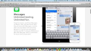 iMessage For Mac (Messages)