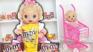 BIA LOBO PRETEND PLAY WITH NANNY BABY ALIVE / COMPILATION