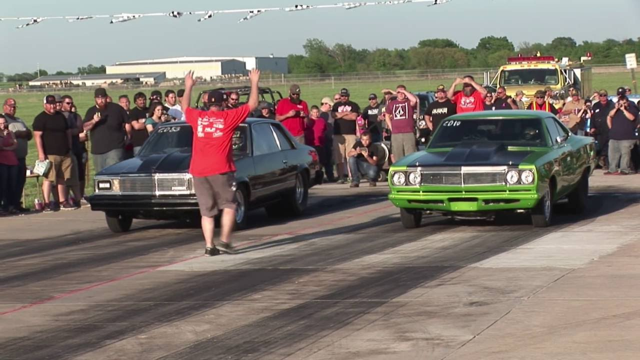 10 STREET RACES - Coffeyville Street Drags - YouTube